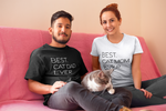 Best Cat Dad Ever Tee - Boujeecat