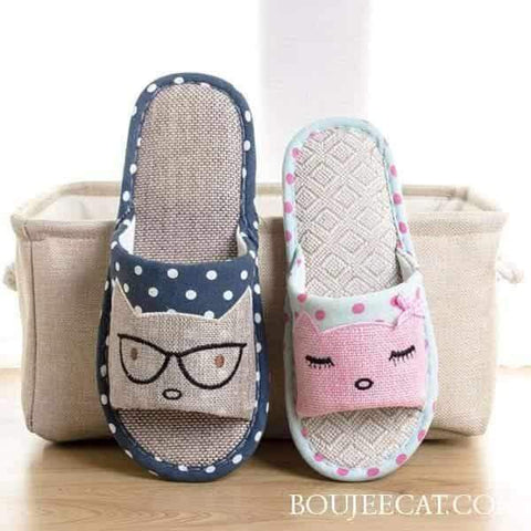 Smart Cat House Slippers - Boujeecat