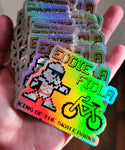 Storm Trooper - King of the Skateparks holographic Sticker