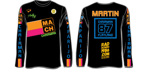 "SPECIAL EDITION MARTIN APARIJO ""THE CHAIRMAN"" SIGNATURE JERSEY"