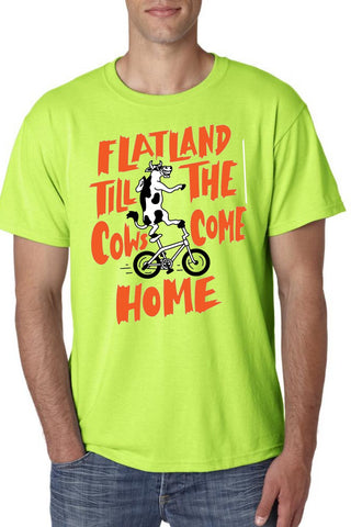 Flatland till the cows come home