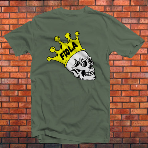 Eddie Fiola Color Skull T-Shirt