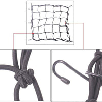 Motorcycle Protective Net Portable Durable Elastic Luggage Storage Net