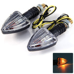 12V 2pcs Arrow Shaped Amber Turn Signal Indicator Light for Motorcycle