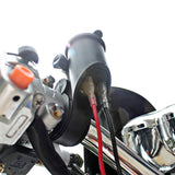 CS-020 12V Motorcycle Handlebar Mounted Power Socket with USB Charger