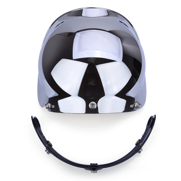 3-Pin Buckle Modular Face Shield Visor Lens for Motorcycle Helmet