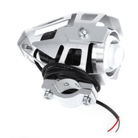 U5 3000LM 125W Upper Low Beam Motorcycle Headlight LED Driving Motorbike Lamp