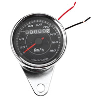 B716 Universal Odometer Speedometer Gauge Meter Dual Color LED Back Light Motorcycle Modification Part