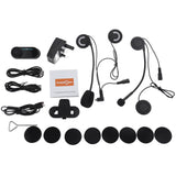 T - COM02S Motorcycle Motorbike Helmet Intercom Headset Water-resistant Interphone