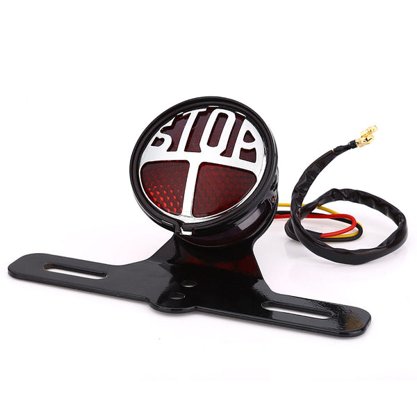 Motorcycle Motorbike Tail Light Break Stop Lamp