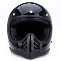 Motorcycle Safety Retro Full Face Detachable Helmet