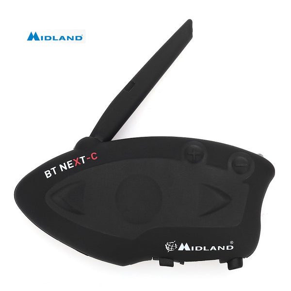 MIDLAND Universal BT NEXT 1600M Bluetooth Motorcycle Motorbike Helmet Intercom Headset Water-resistant Interphone