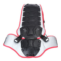 SALETU Motorcycle Racing Riding Skating Armor Backpiece Waist Back Spine Protector