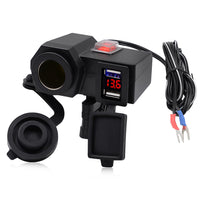 CS - 588A1 Third Generation Motorcycle Charger Dual USB