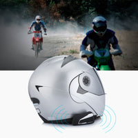 T9S Motorcycle Helmet Headset Bluetooth 2 Interphones