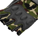 M001 Pair of Motorcycle Half Finger Gloves for Riding Shooting