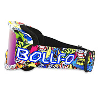 BOLLFO BF656 Motorcycle Goggles for Riding Racing Skiing