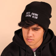 Anti Anime Anime Club Beanie - Black