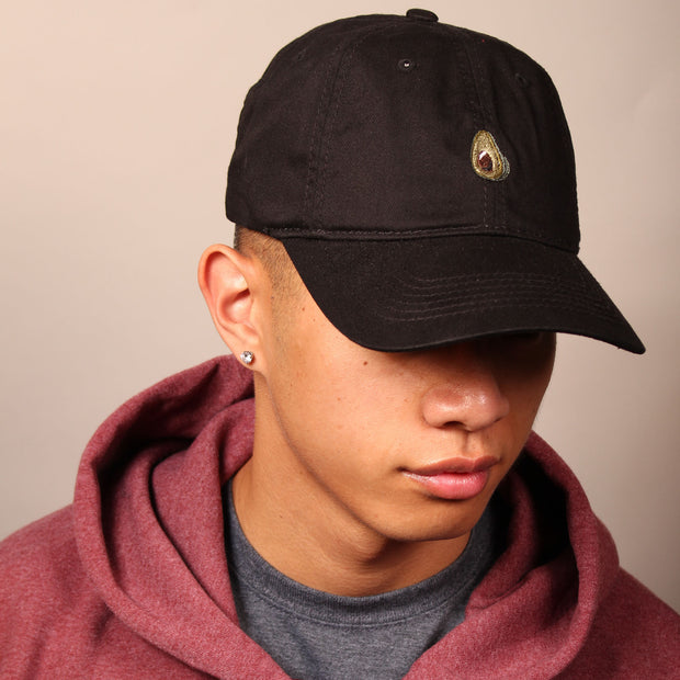 Avocado Dad Cap - Black