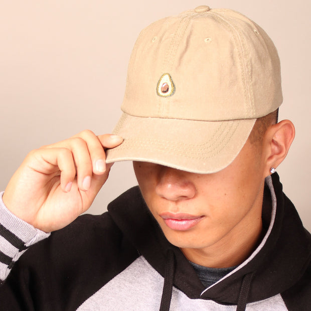 Avocado Dad Cap - Tan
