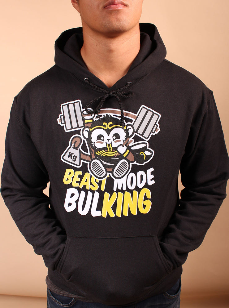 Beast Mode Unisex Hoodie - Black Heather