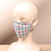 Boba Picnic  -  2 Layer Face Mask with Filter Pocket Washable, Reusable, Breathable. Free Filter