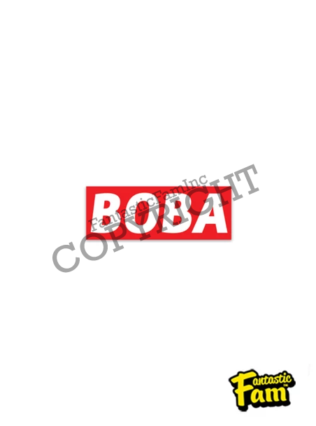 BOBA Vinyl Sticker