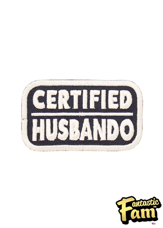 Certified Husbando Iron On Patch