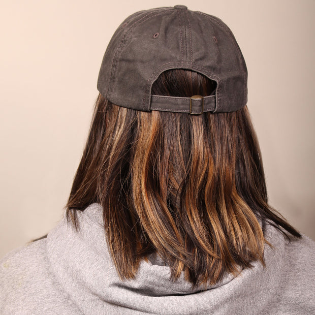 Thai Tea Boba Dad Cap - Charcoal