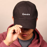 Foodie Dad Cap - Black