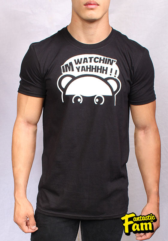 I'm Watchin Yahhh!! Unisex T-Shirt - Black