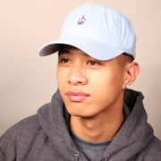 Taro Boba Dad Cap - Blue