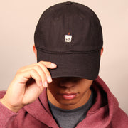 Milk Tea Boba Dad Cap - Black