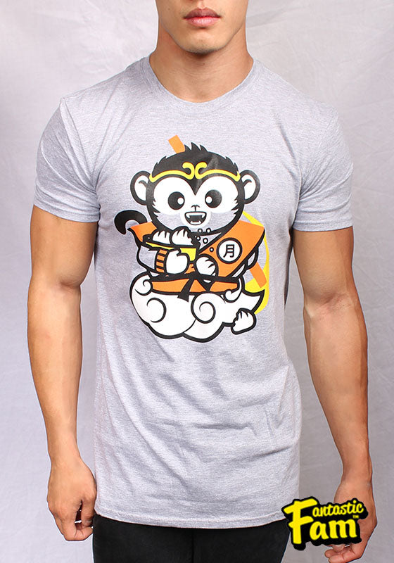 Monkey King Unisex T-Shirt - Gray