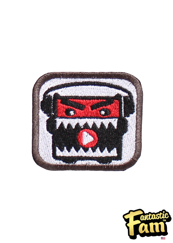 Music Monztr Iron On Patch