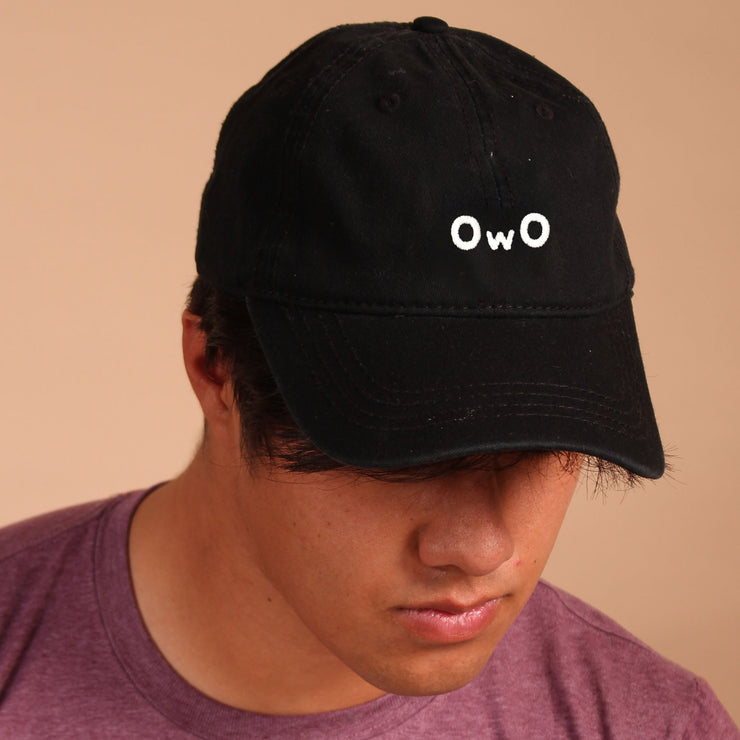 OwO Dad Cap - Black