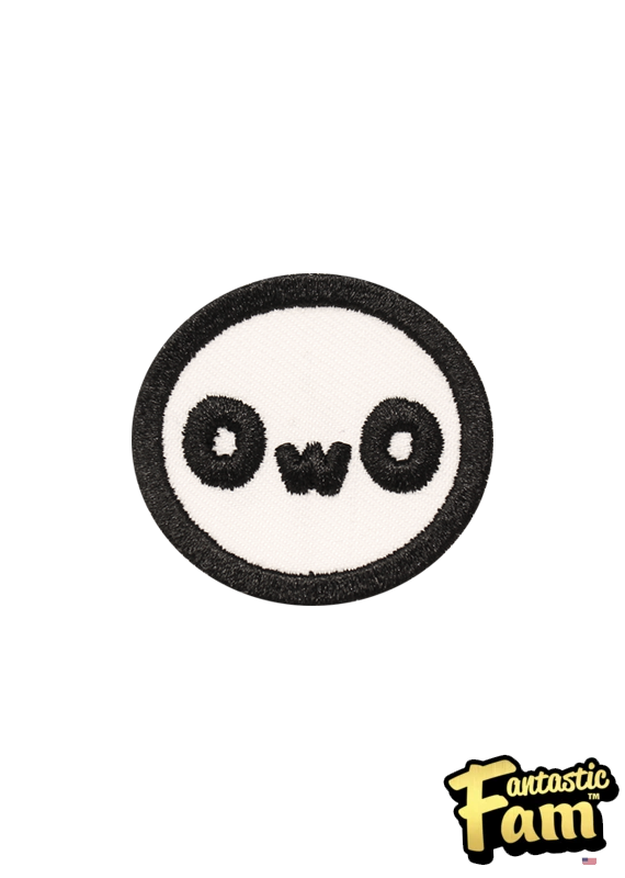 OwO Iron On Patches