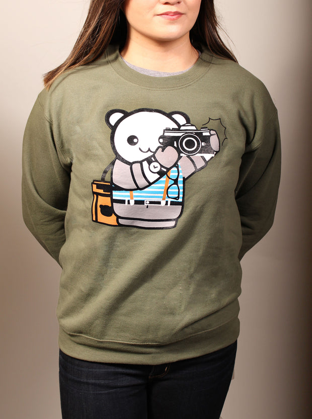 Snapshot Boy Unisex Crewneck Sweater