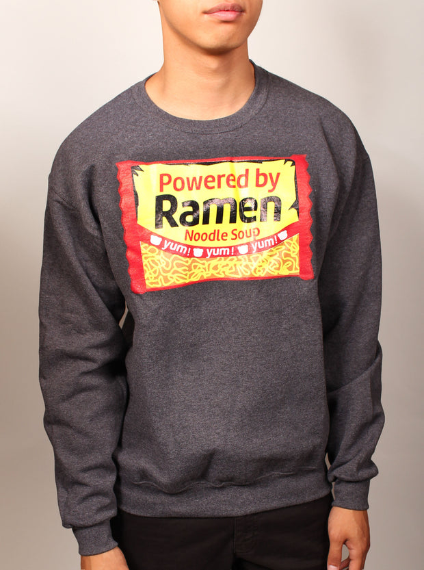 Powered by Ramen Unisex Crewneck Sweater