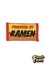 Powered by Ramen Iron On Patch