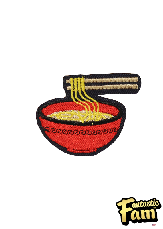 Ramen Bowl Iron On Patch