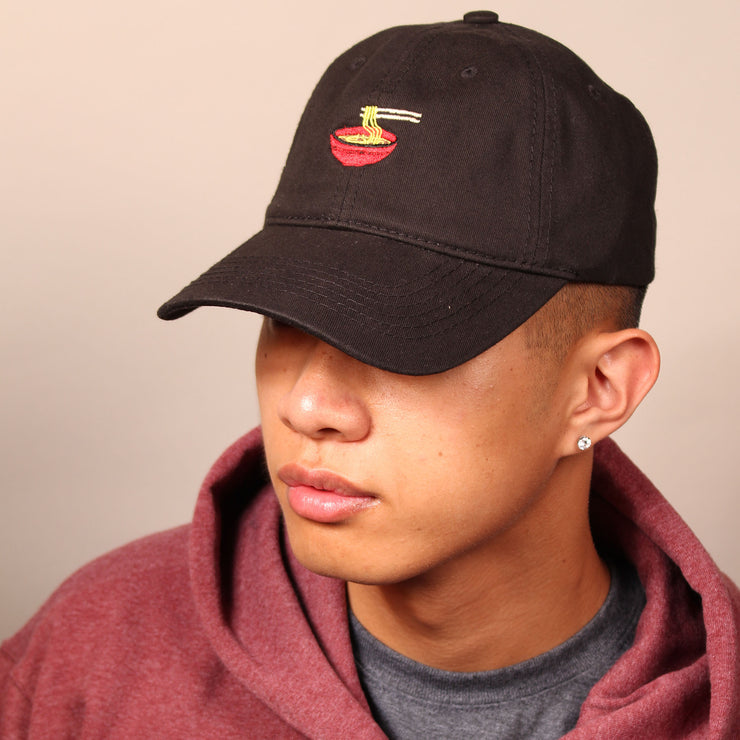 Ramen Dad Cap - Black