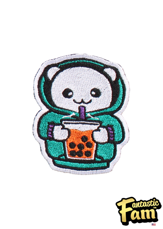 Sweater Weather and Boba Iron On Patch