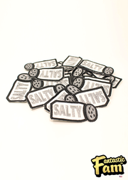 Salty Iron On Patch