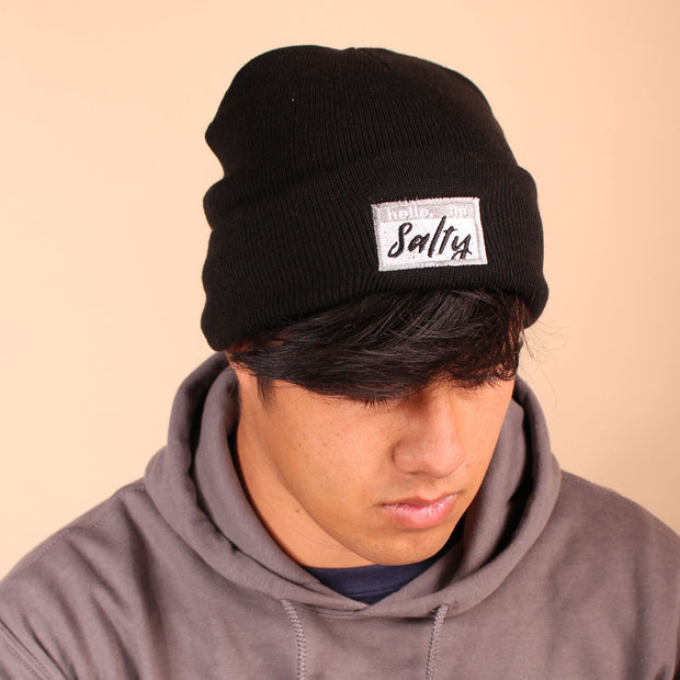 Hello, I'm Salty Beanie - Black