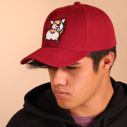 Shake that Fluff Baseball Cap - Maroon
