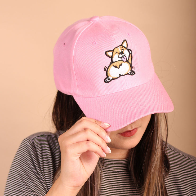 Shake that Fluff Baseball Cap - Pink