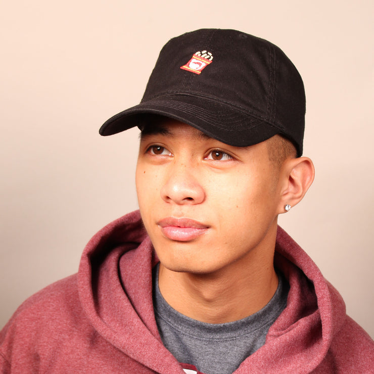 Shrimp Chips Dad Cap - Black