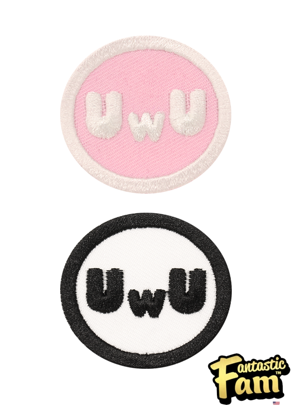 UwU Iron On Patches