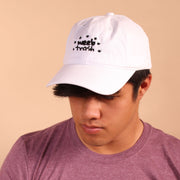 Weeb Trash Dad Cap - White